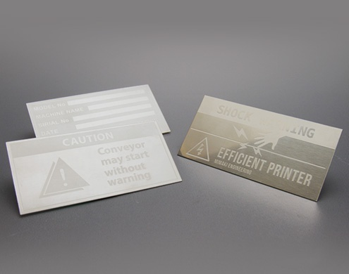 UJF-6042:Nameplate (Etching)