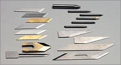 Extensive line-up of cutter blades