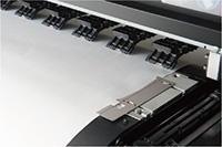 Larger media press plates