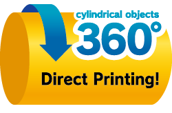 cylindrical objects 360º Direct Printing!