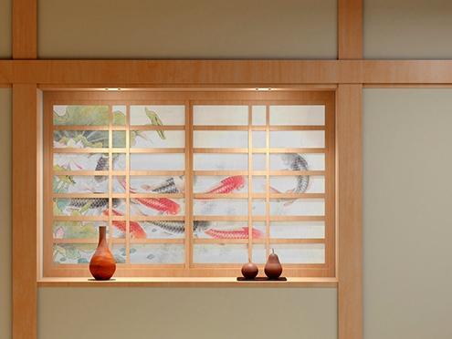 UCJV150-160: Shoji (sliding paper door)