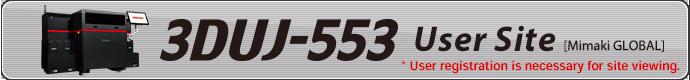 3DUJ-553 User Site