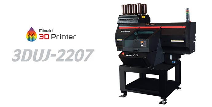 3DUJ-2207 | Compact Full Color UV Inkjet 3D Printer