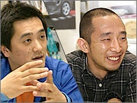 Left: Mr. Toga (Group Leader), Right: Mr. Suzuki