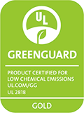 GREENGUARD Gold Certification label
