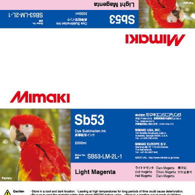 SB53-LM-2L Sb53 Light Magenta