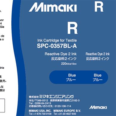 SPC-0357BL Reactive dye ink Blue