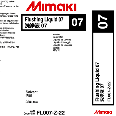 FL007-Z-22 Flushing Liquid 07 cartridge