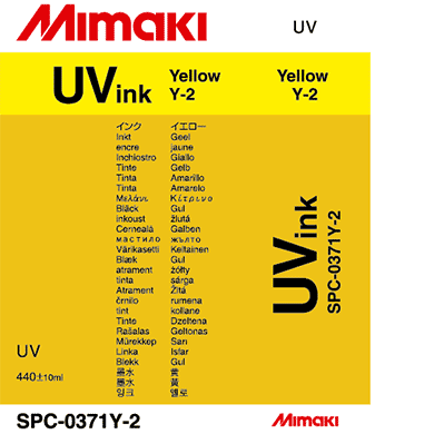 SPC-0371Y-2 UV curable ink cartridge Yellow