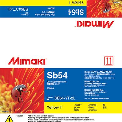 SB54-YT-2L Sb54 Yellow T