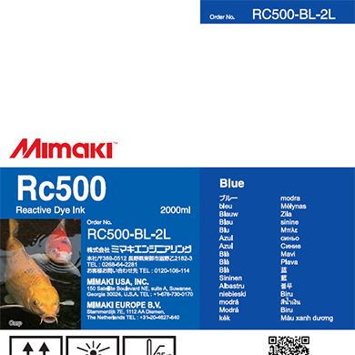 RC500-BL-2L Rc500 Blue