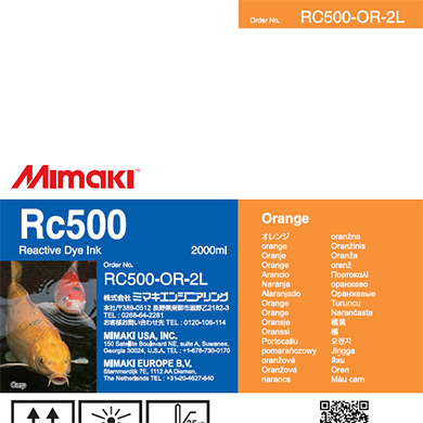 RC500-OR-2L Rc500 Orange