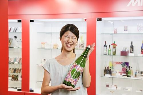 Magnum wine bottle