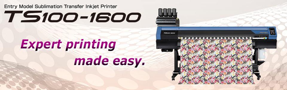 TS100-1600 | Entry-model Sublimation transfer inkjet printer