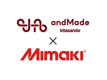 "Mimaki sublimation transfer system is active at the topic fashion FAB space ""andMade""!"