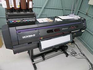 """UV-curable inkjet printer """"UCJV300-75"""""""