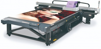 Mimaki JFX500-2131 Max Speed 60m2/h. Powerful combination of Speed and Quality.